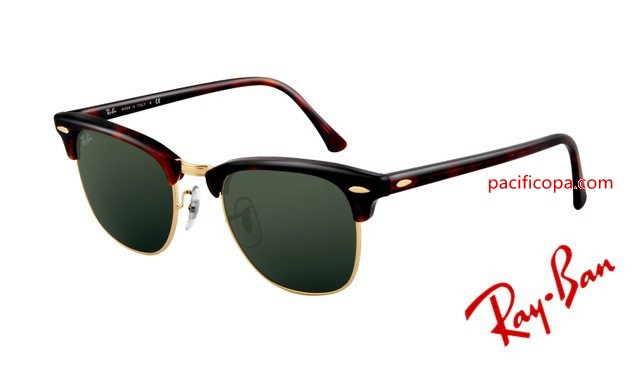 f01d5ecf4d Cheap Ray Ban RB3016 Clubmaster Sunglasses Mock Tortoise Arista Frame
